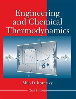 Engineering and Chemical Thermodynamics 2 9780470259610