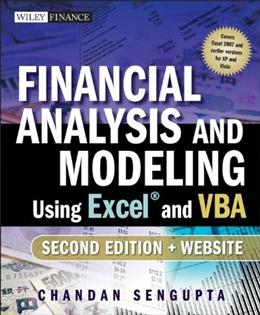 Financial Analysis and Modeling Using Excel and VBA 2 w/CD 9780470275603