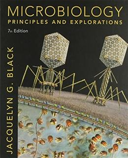 Microbiology: Principles and Explorations, by Black, 7th Edition, 2 BOOK SET 7 PKG 9780470343517