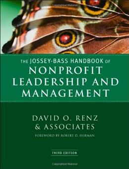 The Jossey-Bass Handbook of Nonprofit Leadership and Management 3 9780470392508