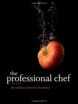Professional Chef, by CIOAS, 9th Edition 9780470421352
