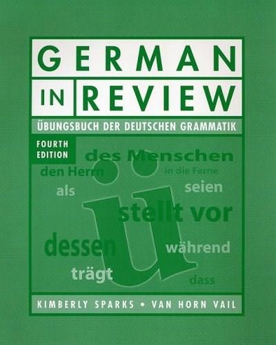 German in Review, by Sparks, 4th Edition, Workbook 9780470424308