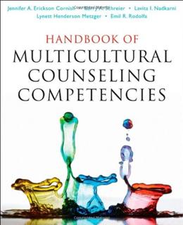 Handbook of Multicultural Counseling Competencies, by Cornish 9780470437469