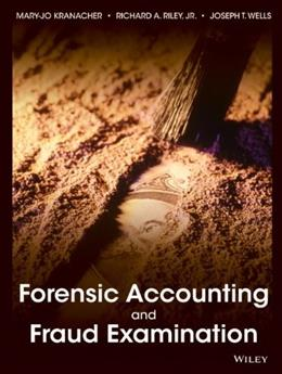 Forensic Accounting and Fraud Examination BK w/CD 9780470437742