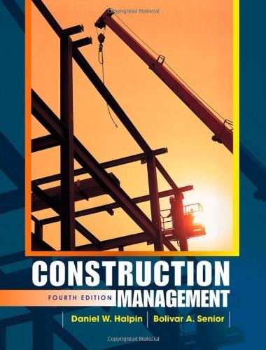 Construction Management 4 9780470447239