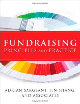 Fundraising Principles and Practice, by Sargeant 9780470450390