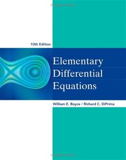 Elementary Differential Equations 10 9780470458327