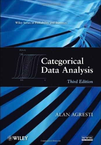 Categorical Data Analysis 3 9780470463635