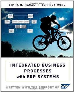 Integrated Business Processes with ERP Systems 1st 9780470478448