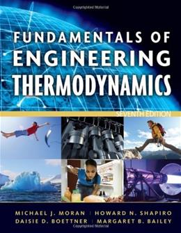 Fundamentals of Engineering Thermodynamics, 7th Edition 9780470495902