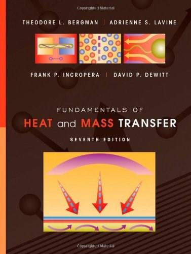 Fundamentals of Heat and Mass Transfer 7 9780470501979