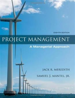 Project Management: A Managerial Approach 8 9780470533024