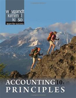 Accounting Principles, by Weygandt, 10th Edition 9780470534793