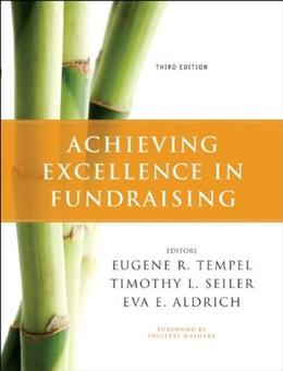 Achieving Excellence in Fundraising 3 9780470551738