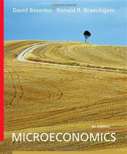 Microeconomics, by Besanko, 4th Edition 9780470563588
