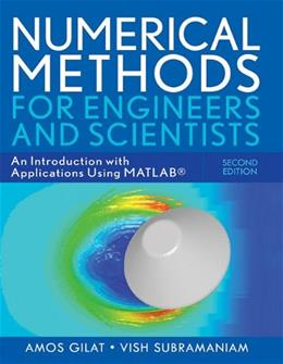 Numerical Methods, by Gilat, 2nd Edition 2 PKG 9780470565155