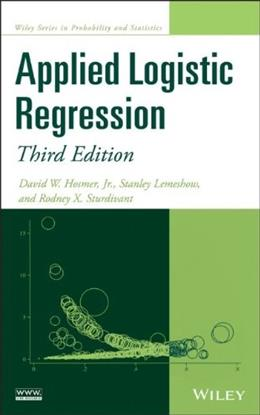 Applied Logistic Regression, by Hosmer, 3rd Edition 9780470582473