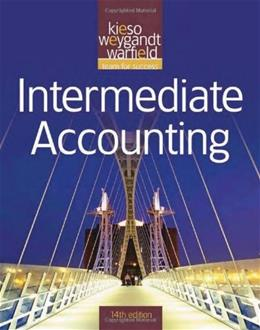 Intermediate Accounting, by Kieso, 14th Edition 9780470587232