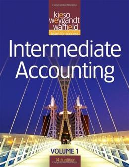 Intermediate Accounting, by Kieso, 14th Edition, Volume 1 9780470587287
