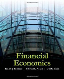 Financial Economics, by Fabozzi 9780470596203