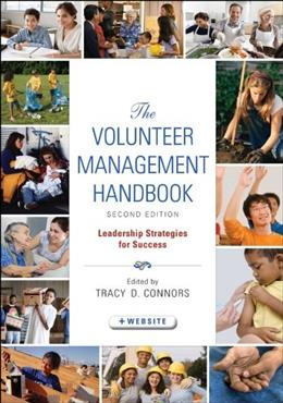 Volunteer Management Handbook: Leadership Strategies for Success, by Connors, 2nd Edition 9780470604533