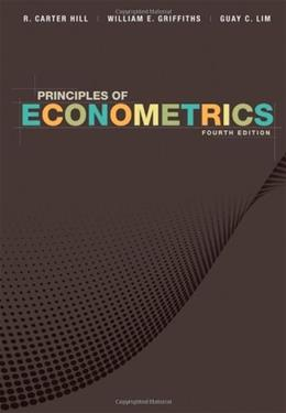 Principles of Econometrics 4 9780470626733
