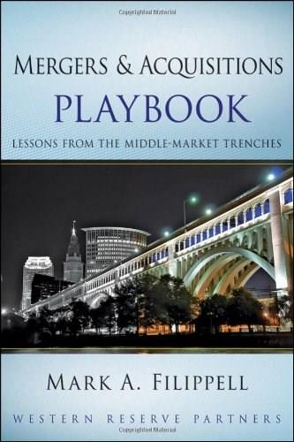 Mergers and Acquisitions Playbook, by Filppell 9780470627532