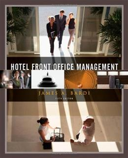 Hotel Front Office Management 5 9780470637524