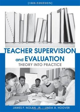Teacher Supervision and Evaluation, by Nolan, 3rd Edition 9780470639955