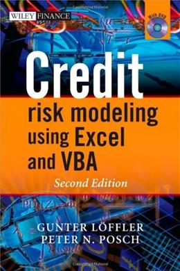 Credit Risk Modeling using Excel and VBA, by Loeffler, 2nd Edition 2 w/CD 9780470660928
