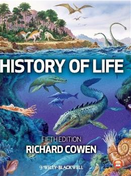 History of Life, by Cowen, 5th Edition 9780470671733