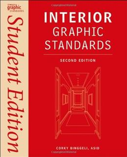 Interior Graphic Standards, by Binggeli, 3rd Edition 2 9780470889015