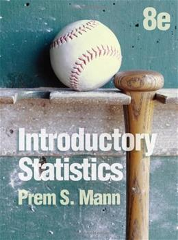 Introductory Statistics 8 9780470904107