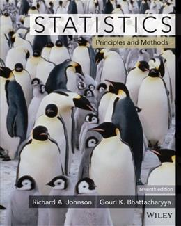 Statistics: Principles and Methods 7 9780470904114