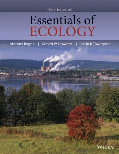 Essentials of Ecology, by Townsend, 4th Edition 9780470909133
