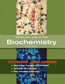 Biochemistry, by Voet, 4th Edition 9780470917459