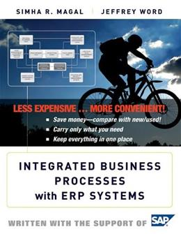 Integrated Business Processes with ERP Systems, by Simha 9780470920947