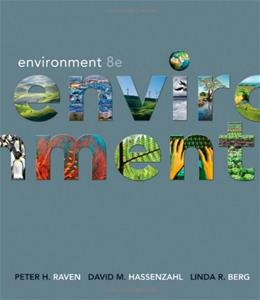 Environment, by Raven, 8th Edition 9780470945704