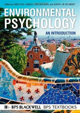 Environmental Psychology: An Introduction, by Steg 9780470976388