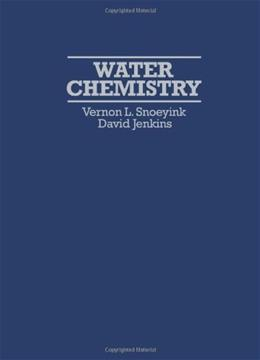 Water Chemistry, by Snoeyink 9780471051961