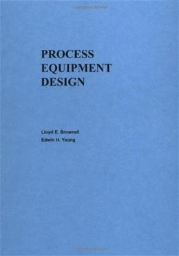 Process Equipment Design, by Brownell 9780471113195