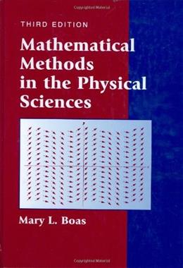 Mathematical Methods in the Physical Sciences 3 9780471198260