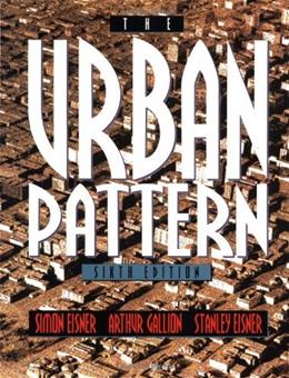 The Urban Pattern, 6th Edition 9780471284284