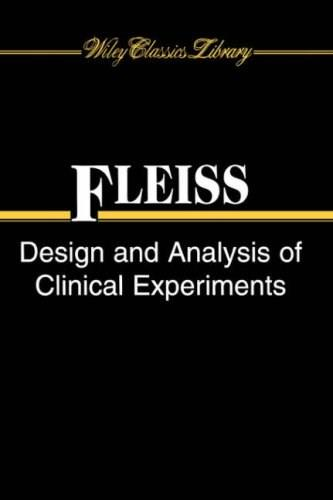 Design and Analysis of Clinical Experiments, by Fleiss 9780471349914