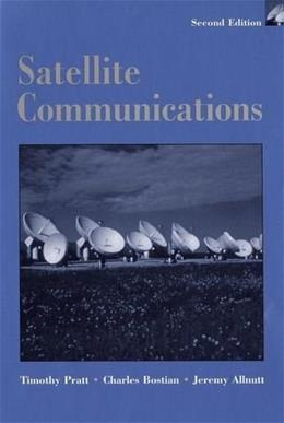 Satellite Communications, by Pratt, 2nd Edition 9780471370079