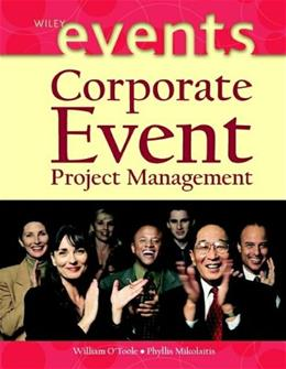 Corporate Event Project Management, by O