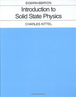 Introduction to Solid State Physics 8 9780471415268