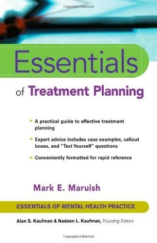 Essentials of Treatment Planning, by Maruish 9780471419976