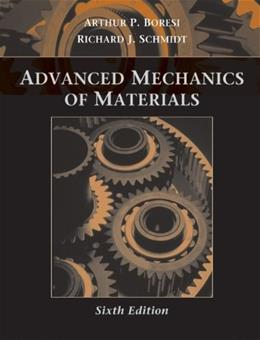 Advanced Mechanics of Materials 6 9780471438816