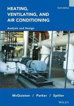 Heating, Ventilating and Air Conditioning Analysis and Design 6 PKG 9780471470151